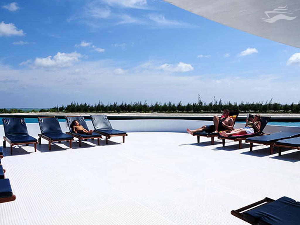 Descansa del trabajo en Islas Maldivas