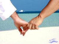 fotos casados islas maldivas celebracion
