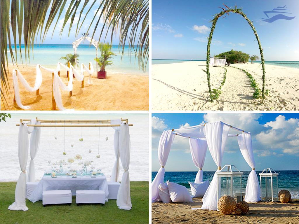 Cenador gazebo decoracion maldivas boda